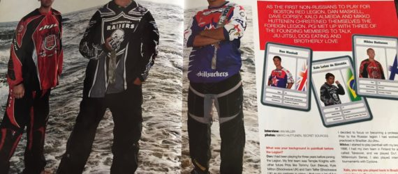 Revista internacional com Xalo, Mikko e Dan